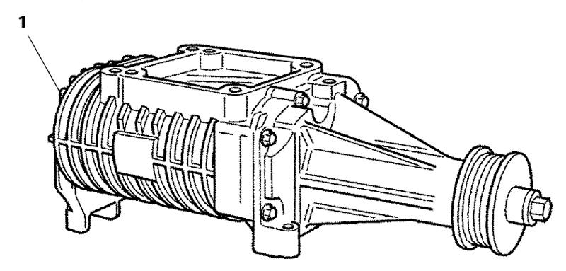 Compressor 4.2L met compressor GEBRUIKT AJ89855