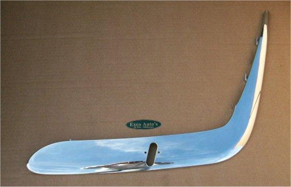 Daimler Bumper Sierlijst Chroom Links Voor Koplampsproeier Nieuw