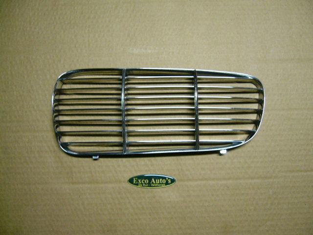 Jaguar XJ vanaf 2003 Gril Inleg Tralie Chroom Links. GEBRUIKT