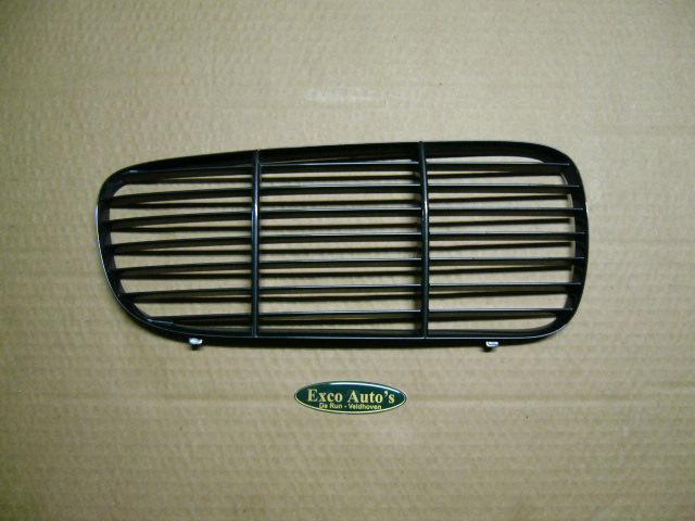 Jaguar XJ vanaf 2003 Gril Inleg Tralie Dorchester grijs Rechts . GEBRUIKT