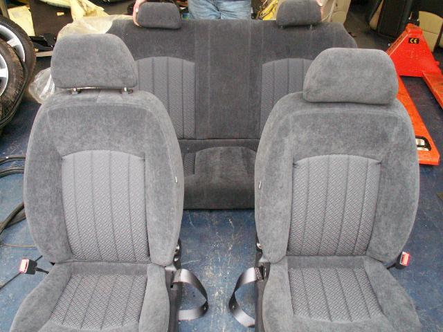 Jaguar X-type vanaf 2001 Voorstoelen + Achterbank Stof Grijs Nieuw