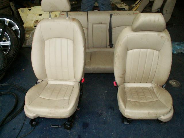 Jaguar X-type vanaf 2001 Voorstoelen + Achterbank Leder Beige Nieuw