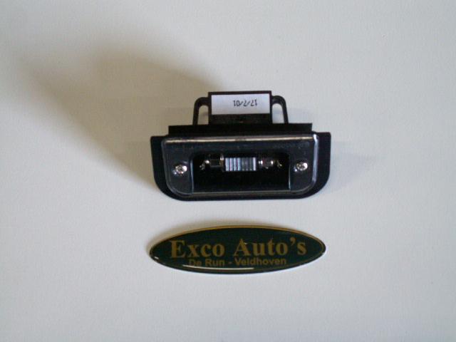 Jaguar XJ8 Kenteken Verlichting Nieuw