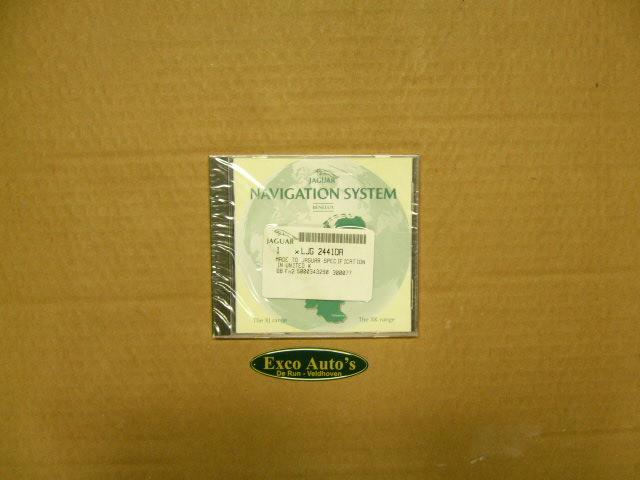 Navigatie DVD Benelux Voor XJ8-XJR-XK8-XKR