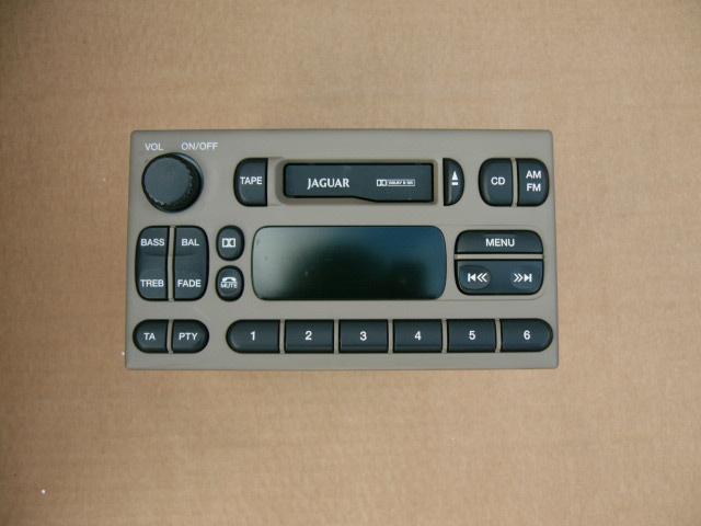 Jaguar S-type 1999-2002 Radio Beige Nieuw Met Code