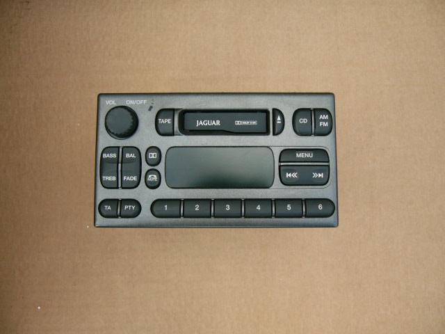 Jaguar S-type 1999-2002 Radio Donker Grijs Nieuw Met Code