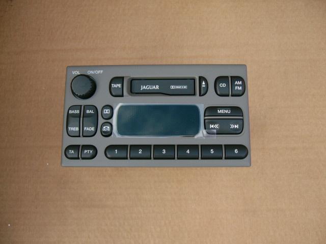 Jaguar S-type 1999-2002 Radio Licht Grijs Nieuw Met Code