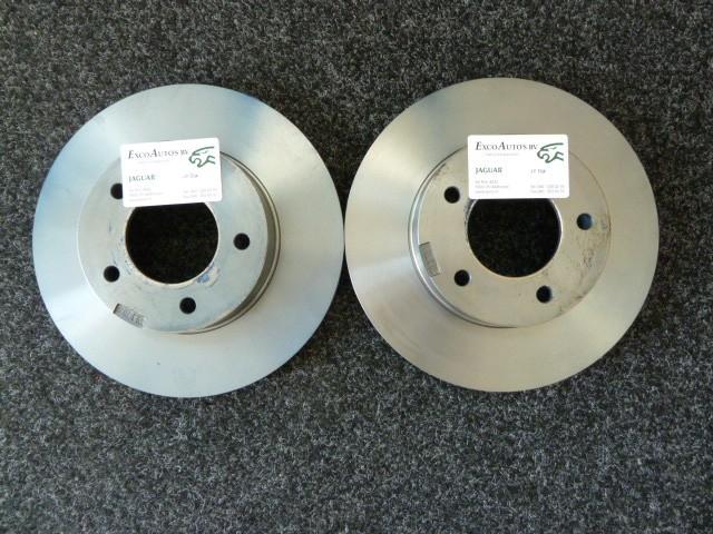 XF Remschijfset 380mm achter voor 5.0 liter met compressor NIEUW C2P13648