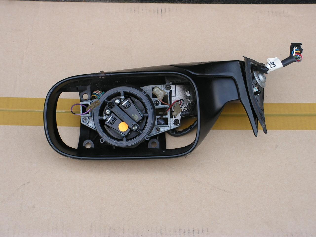 Jaguar XJ-40 tot 1994 spiegelhuis links gebruikt