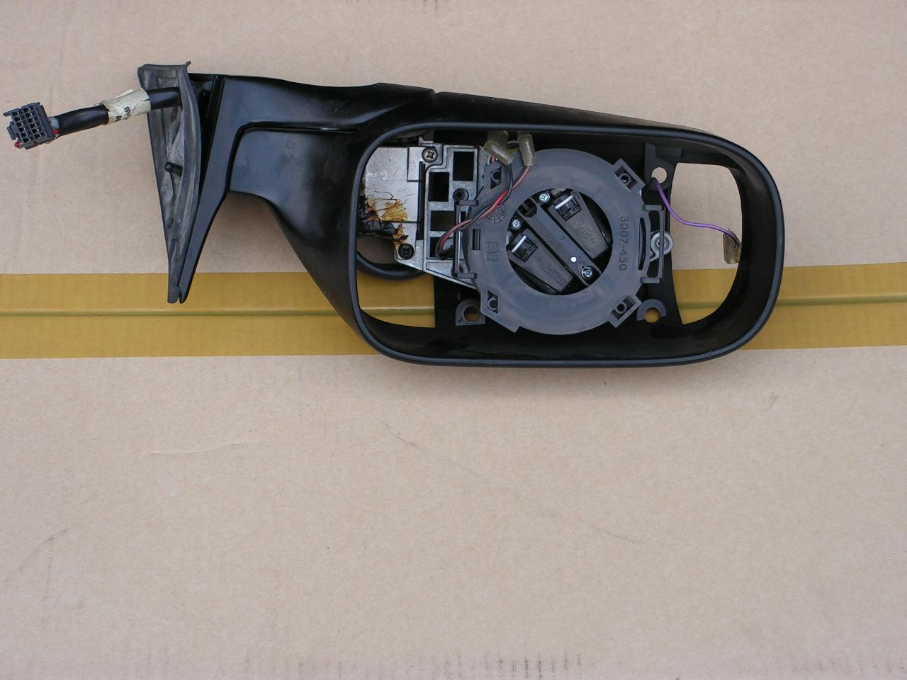 Jaguar XJ-40 tot 1994 spiegel compleet rechts gebruikt