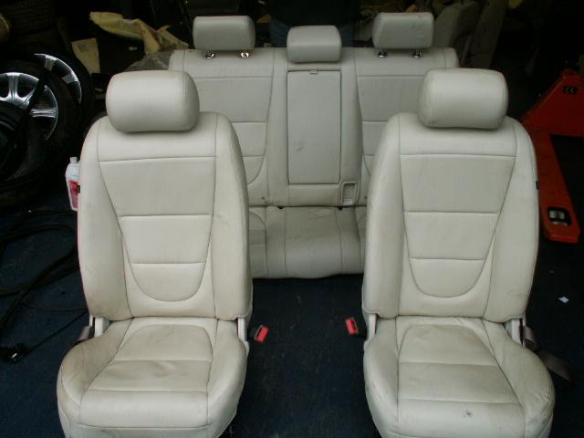 Jaguar X-type Voorstoelen + Achterbank Leder Grijs Nieuw