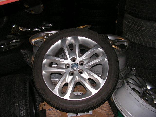 Jaguar X-type 17-Inch Velgen met gebruikte banden