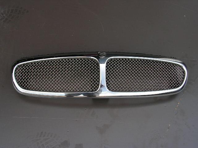 Jaguar X-type wire-gril compleet chroom. GEBRUIKT.