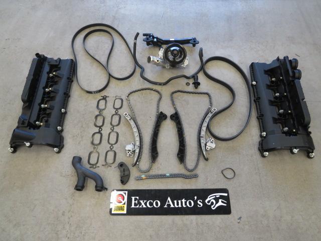 Jaguar F-TYPE 5.0 V8 motor kettingspanner probleem motor maakt tikkend geluid P0016 P0017 P0018 P001