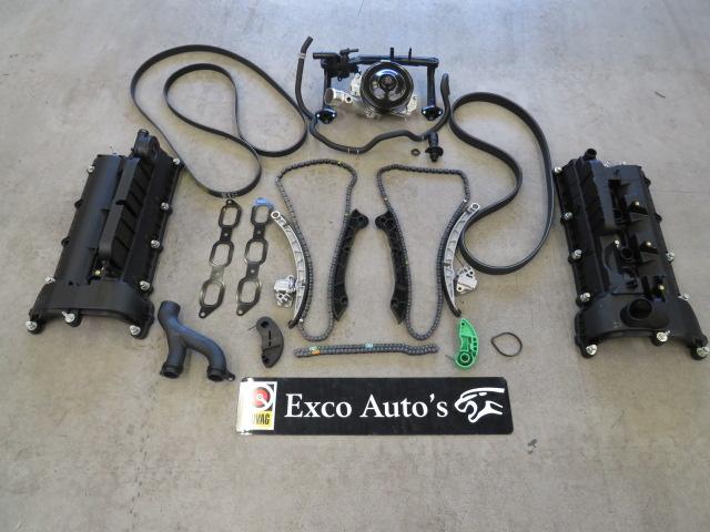 Jaguar XJ S/C 3.0 V6 motor kettingspanner probleem motor maakt tikkend geluid P0016 P0017 P0018 P001